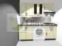 3D vizualizace - kuchyně