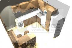 Kuchyσ - panelákov∞ byt p. Hynková