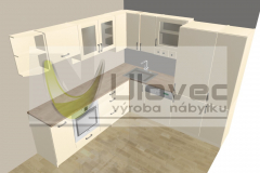 Kuchyσ - panelákov∞ byt p. Zajícová 1